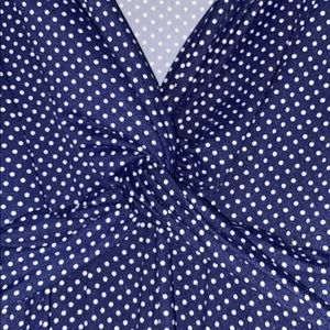Rolla Coster Dresses - Woman's Rolla Coster Navy/White Polka Dot Dress S